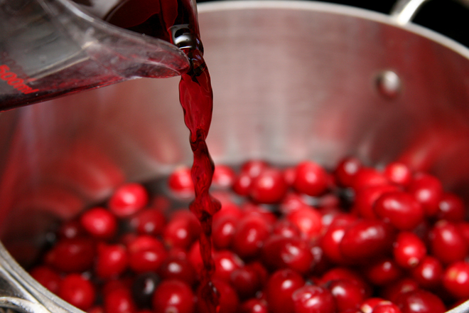 mulled wine cranberry sauce 5