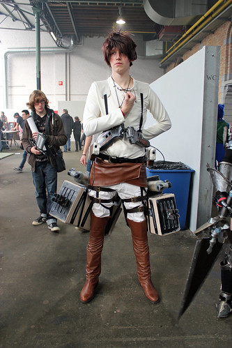 Attack on Titan cosplayer