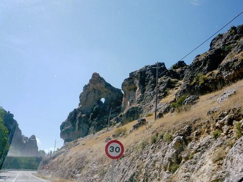 Anfahrt zur Fuente Segura bei Pontones