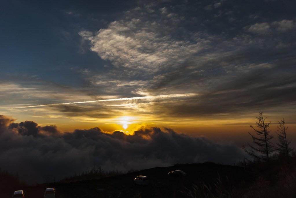 2013.11.08 富士山からの日の出