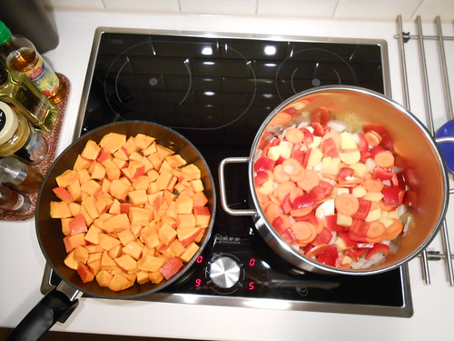 Making of: Pumpkin Gulasch
