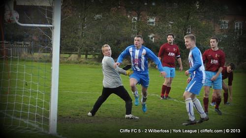 Cliffe FC 5 - 2 Wilberfoss 9Nov13