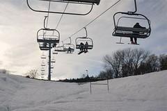 Monínec: o víkendu se už lyžovalo!