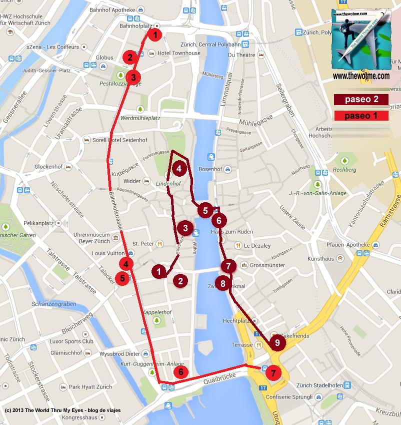 Resumen gráfico de los dos paseos que os propongo por Zürich (Suiza) zurich - 10804577424 7b0c41e4cb o - Dos paseos por la ciudad suiza de Zürich