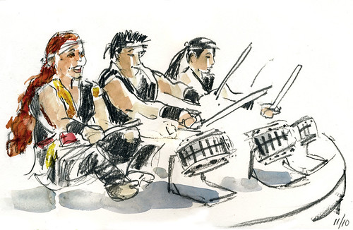 Taiko Drummers #3