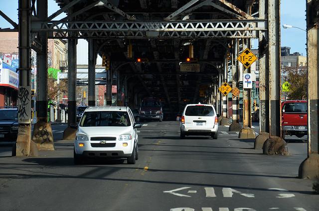 Puentes de coches del Bronx
