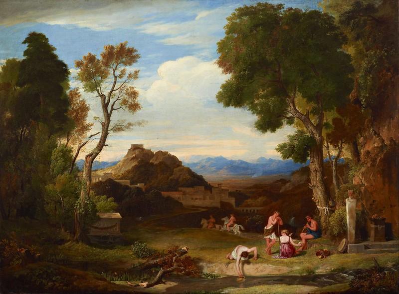 Charles Lock Eastlake - Classical landscape