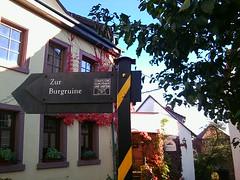 Zur Burgruine