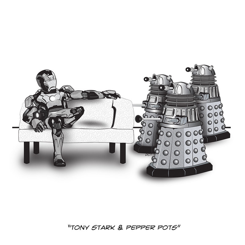 Tony Stark & Pepper Pots