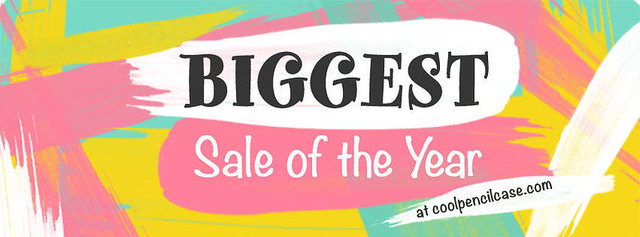 CoolPencilCase Biggest Sale of the year