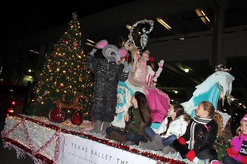 Parade of Lights 2013 with Texas Ballet Theater School