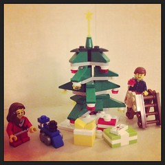 Christmas decorations are up... #lego #legostagram #instalego