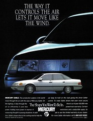 Mercury Sable (1987) move like the wind
