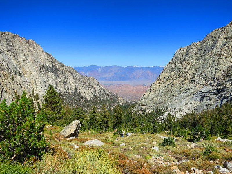 valley above whitney portal