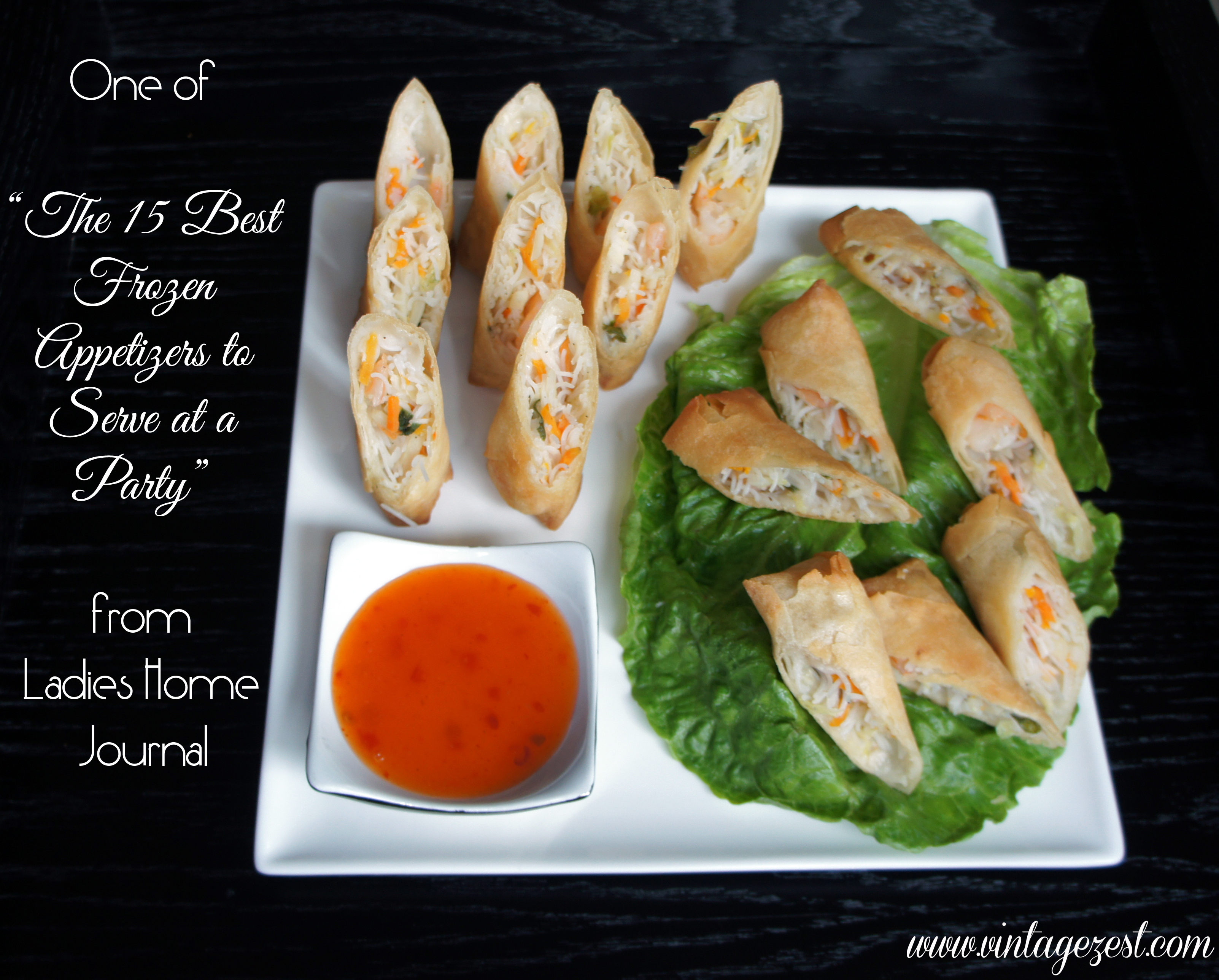 SeaPak Spring Rolls Quick Holiday Appetizers #PakTheParty #shop #ad 2