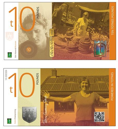 14. Totnes pound