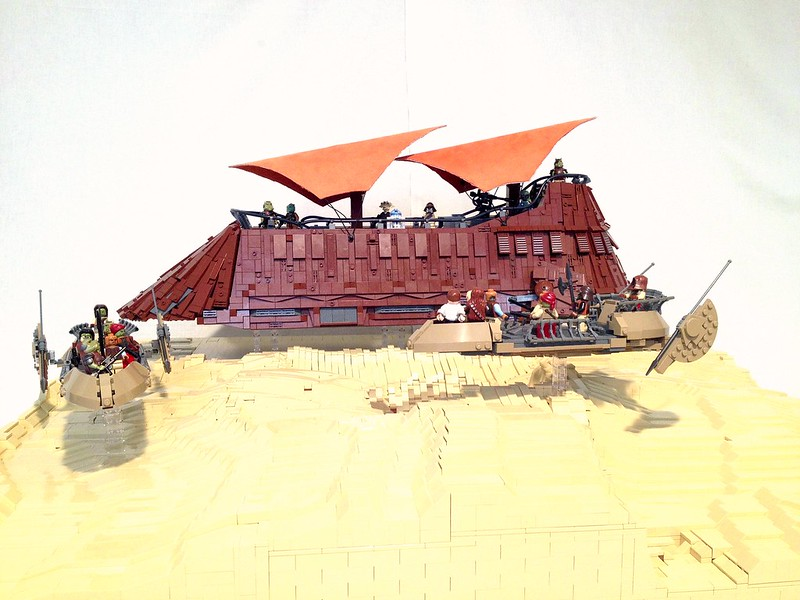 Episode VI - Pit of carkoon - Sarlacc Diorama - LEGO Star ...