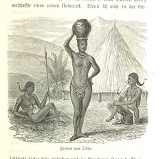 """British Library digitised image from page 305 of """"Der Albert Nyanza, das grosse Becken des Nil und die Erforschung der Nilquellen ... Aus dem Englischen von J. E. A. Martin ... Nebst 33 Illustrationen ... 1 Chromolithographie und 2 Karten"""""""