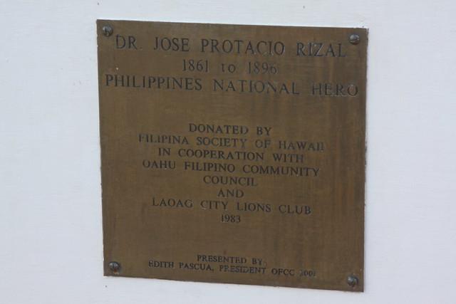 Jose Rizal Statue, Honolulu