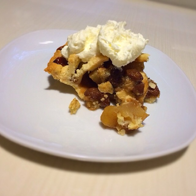 slice of the mock mince pie. | Flickr - Photo Sharing!