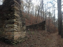 Sope Creek Oil Room Ruins