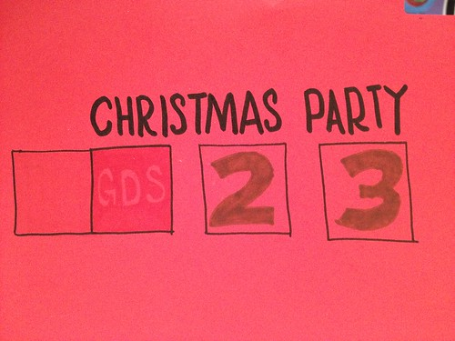 Day 75 - first of 3 Christmas parties