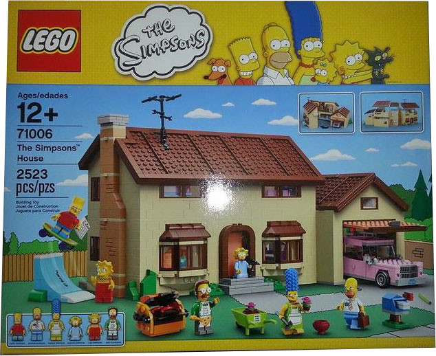 LEGO The Simpsons 71006 - The Simpsons House - Box Front