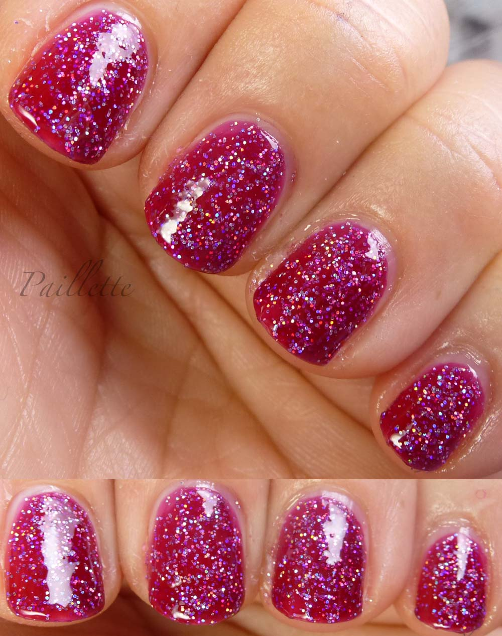 Paillette: a little nail polish journal: Holo + Jelly = Happiness