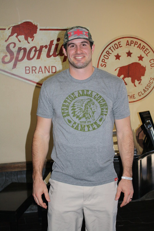 Christian Ponder Great Outdoors Sportiqe Apparel