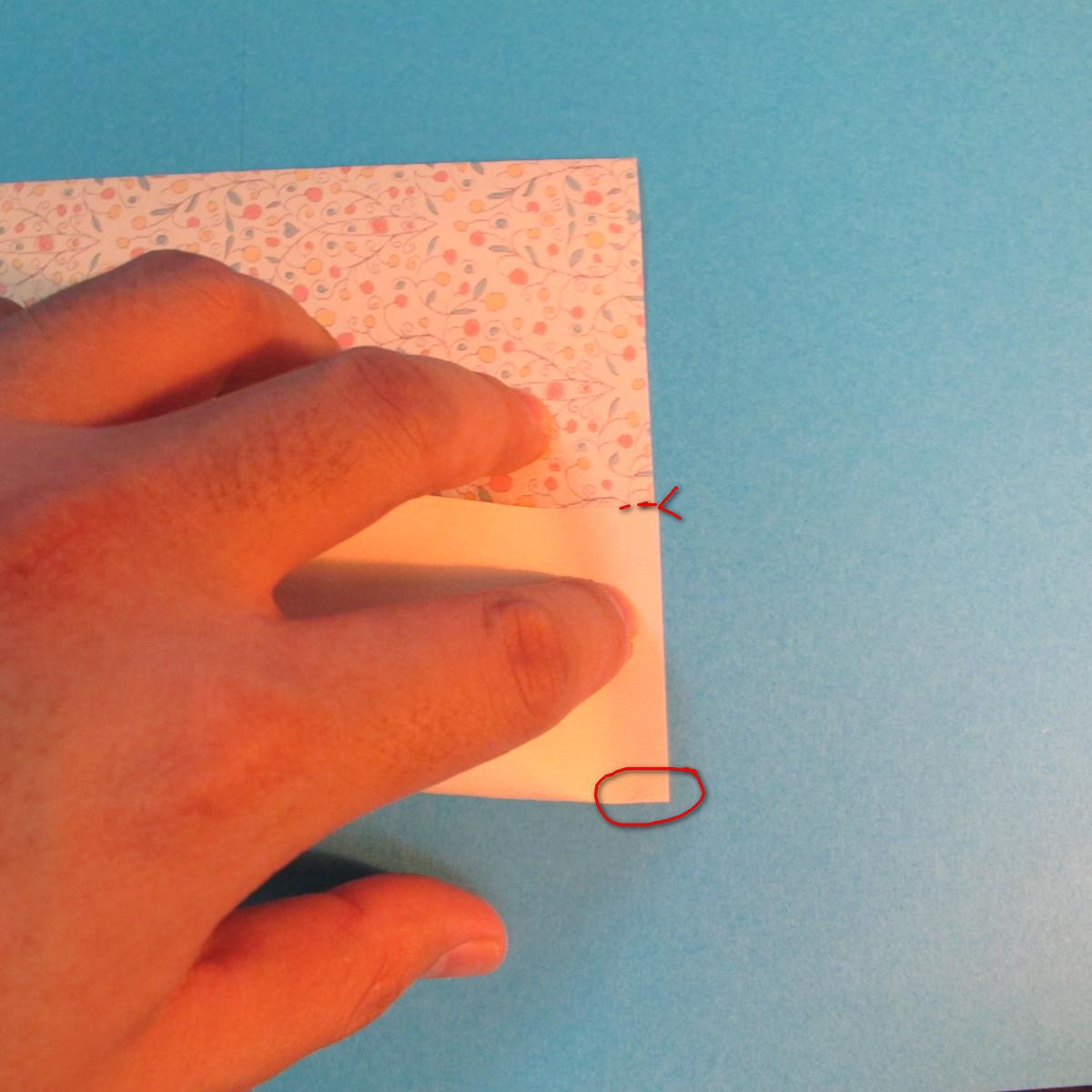 วิธีพับกระดาษเป็นผีเสื้อหางแฉก 011