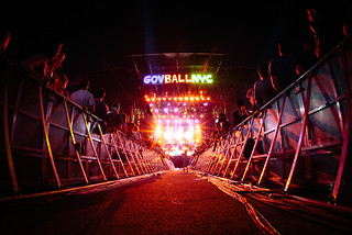 Gov Ball NYC stage. 2013