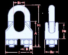 Wire Rope Grips - EN13411-5 A DIN 1142 Image