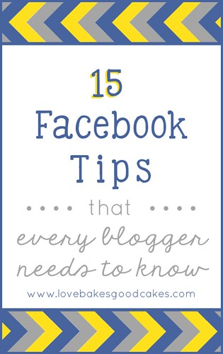 15 Facebook Tips {every blogger needs to know} #socialmedia #tips #facebook