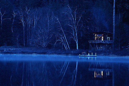 Dawn on Cortes Island, Discovery Islands, British Columbia, Canada