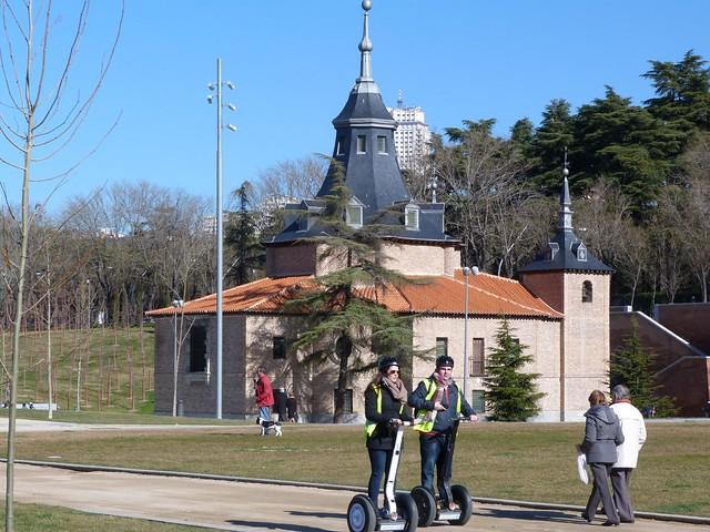De segways en Madrid