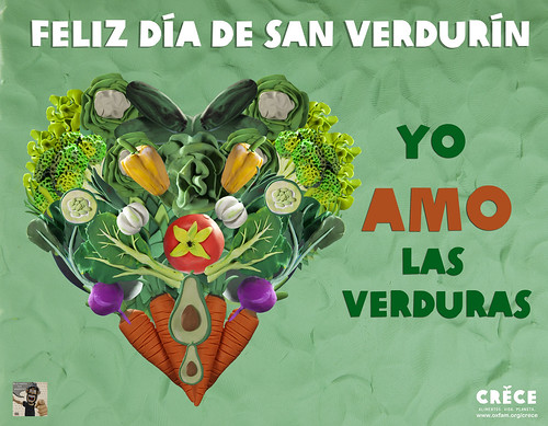 Feliz día de san Verdurín by alter eddie