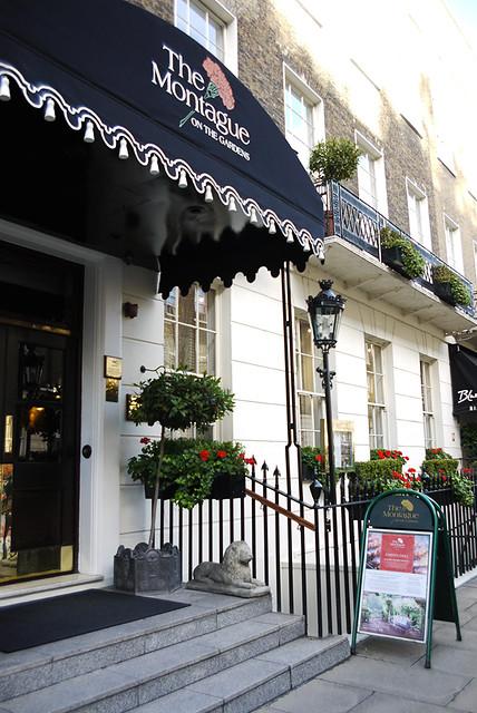 倫敦montague下午茶