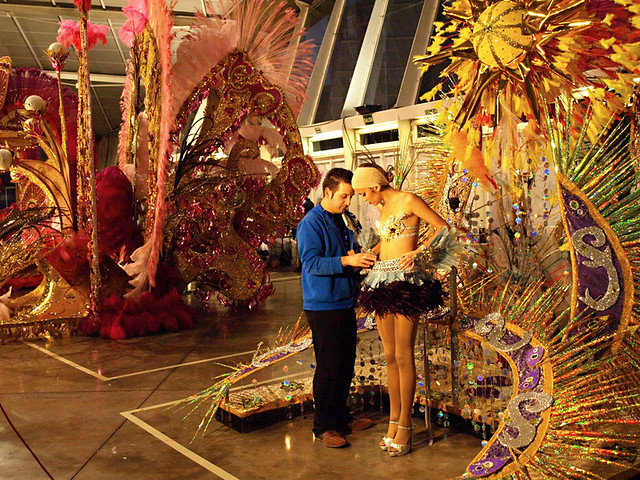 Final Adjustments, Election of Carnival Queen, Santa Cruz, Tenerife