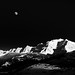 Moon over Mont Blanc by josefrancisco.salgado