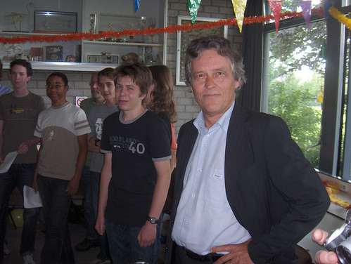 laatste lesdag Henk Wijnen