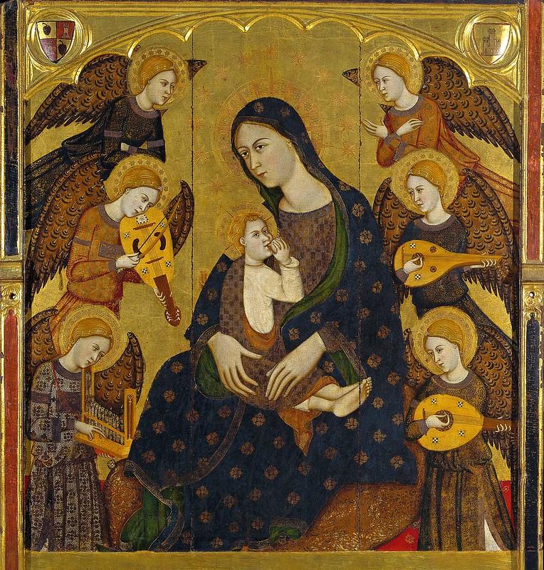 Llorenç Saragossà - Virgin Suckling the Child (c.1390)