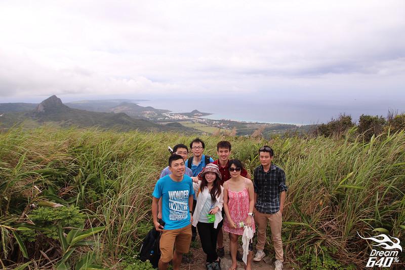台灣最南端的一級展望點「大山母山」。竟藏在墾丁南灣沙灘旁邊