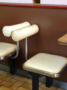 Lotteria: Interior Seating - Okinawa, japan