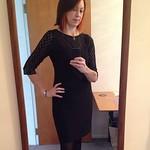 Day13 #mmmay14 today is lace dress day #Burda #sewcialist