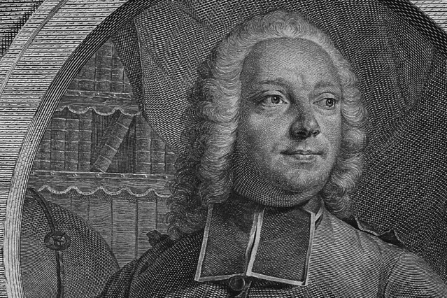 Abbé Prévost (1697–1763), engraving by Georg Friedrich Schmidt, 1745