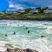 Polzeath Surf, Cornwall by georgeplakides