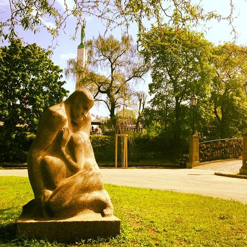 Bastejkalns Park Liberty Monument