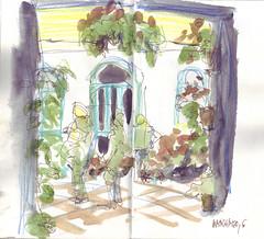 Patios de Córdoba: Manchado, 6
