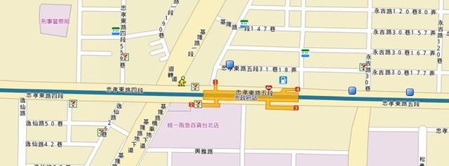保誠人壽map