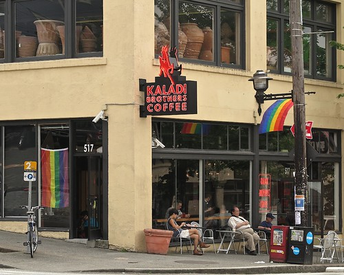 June on Capitol Hill, Kaladi Brothers Coffee